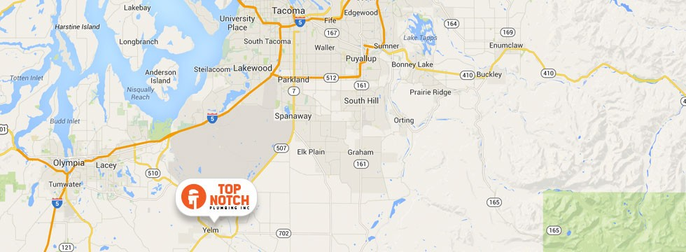 Top Notch Plumbing - Serving Yelm, Olympia, and the greater Thurston County Area